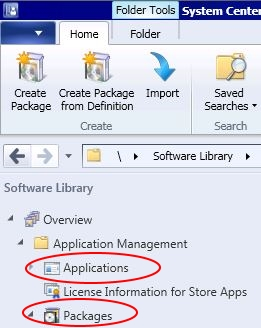 Microsoft SCCM packages versus SCCM applications