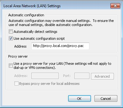 Solving Office 365 activation issues - Internet Explorer proxy settings