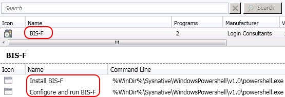 How to configure and run BIS-F in an SCCM task sequence - SCCM package and programs