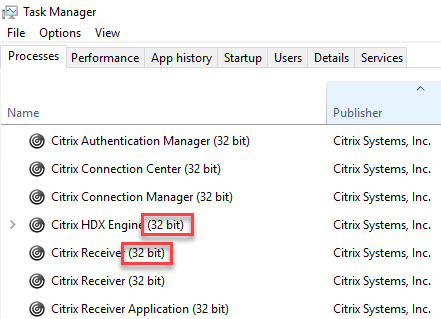 Citrix Receiver unattended installation with PowerShell - Citrix Receiver 64-bit OS 32-bit processes