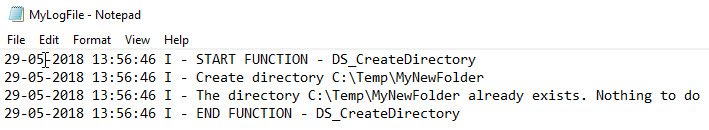 PowerShell function library - Extract log file