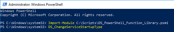 PowerShell function library - Scroll through functions using the TAB key 2