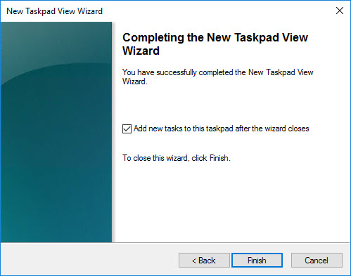 Creating a custom management console for your Citrix tools - Create new taskpad view - complete and add new tasks