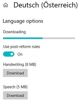 Managing Windows Languages and Language Packs - Downloading language pack