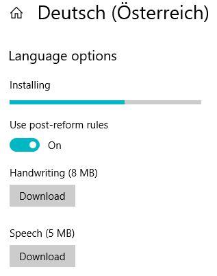 Managing Windows Languages and Language Packs - Installing language pack