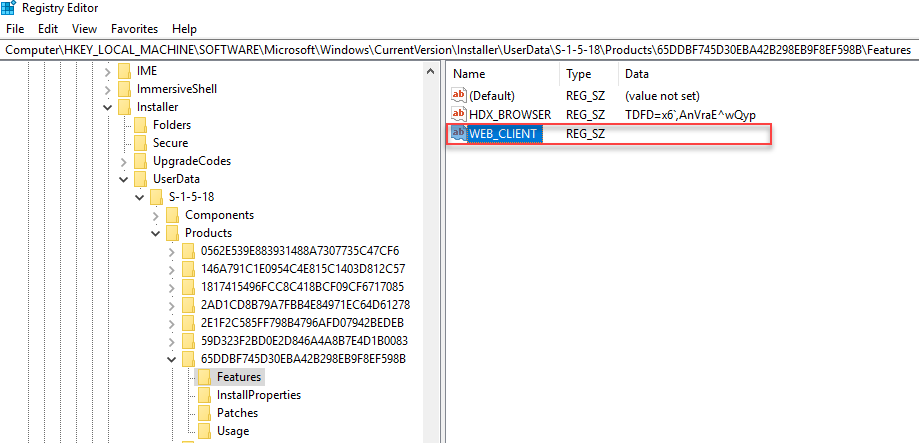 Citrix Workspace App unattended installation with PowerShell - Unexpected MSI repair - WEB_CLIENT registry value