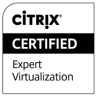Citrix Certified Expert Virtualization logo