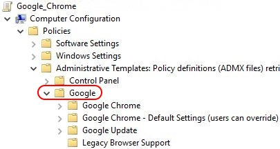 Google Chrome on Citrix deep-dive - Google Chrome Microsoft group policies