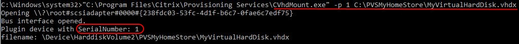 Automate VHD Offline Defrag for Citrix Provisioning Server - CVhdMount.exe example