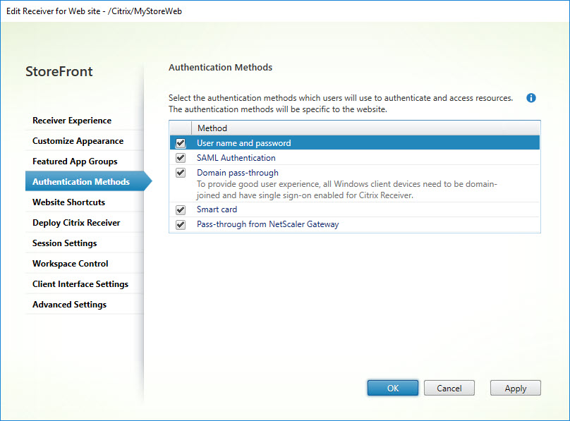 Translating the Citrix StoreFront console to PowerShell - Dennis Span