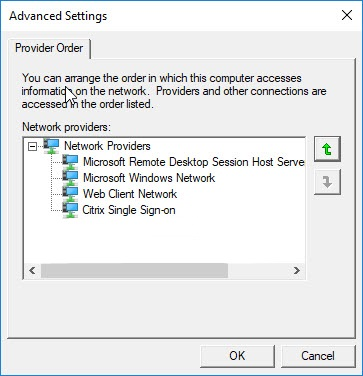 Citrix Receiver unattended installation with PowerShell - Windows Network Providers