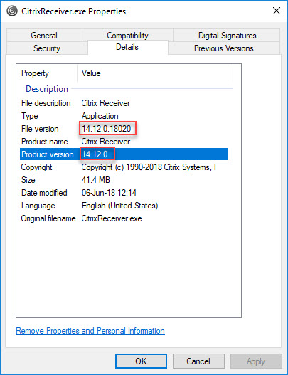 Citrix Receiver unattended installation with PowerShell