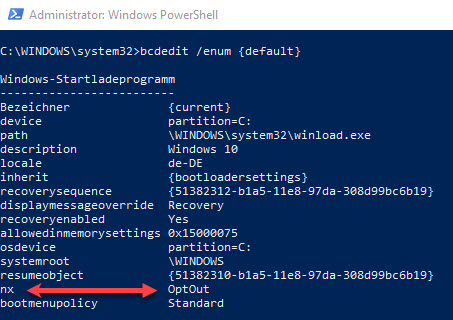 Creating a custom template for Citrix Optimizer - BCDEdit enumeration