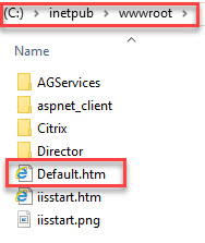 Configuring multiple URLs on a single-site StoreFront deployment - Default.htm