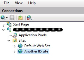 Configuring multiple URLs on a single-site StoreFront deployment - Multiple IIS sites