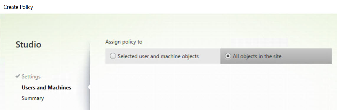 Making limited use of Citrix SmartAccess without Universal licenses - Citrix policy allow drive mapping for all users