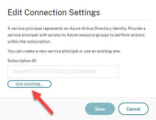 Update application secret step 8